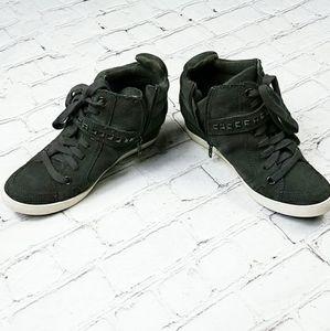 Splendid Women's Gray Tennis Shoe Sneakers 6